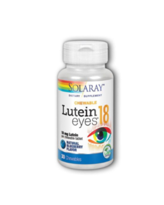 Lutein Eyes 18 Blueberry 18 Mg, 30 Chewables