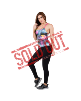 R2L blouse sleeveless fitness - printed 10