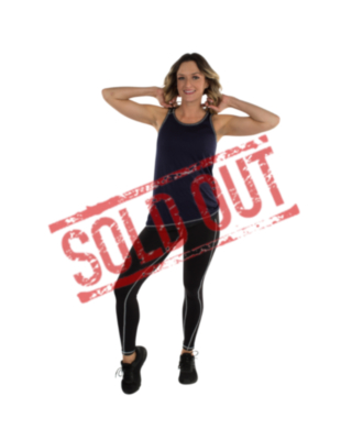 R2L blouse sleeveless fitness - solid 08