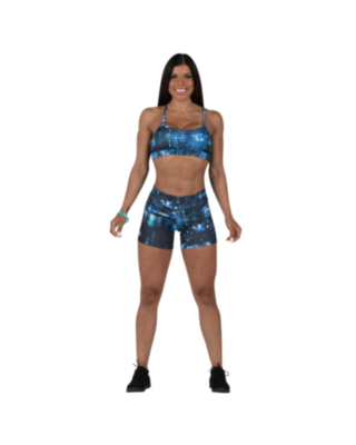 R2L compression shorts for women fit 5